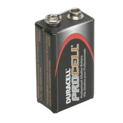 Battery Duracell Procell 9v