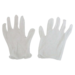 Gloves 12 Pk White Editing