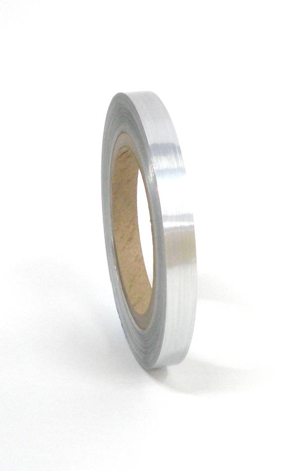 "Brushed Aluminum Tape 1/2""X125'"