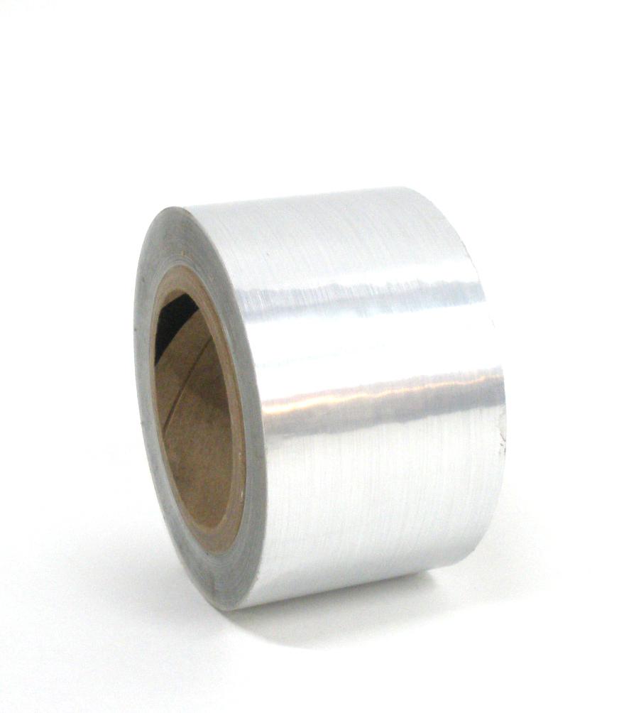 "Brushed Aluminum Tape 3""X125'"