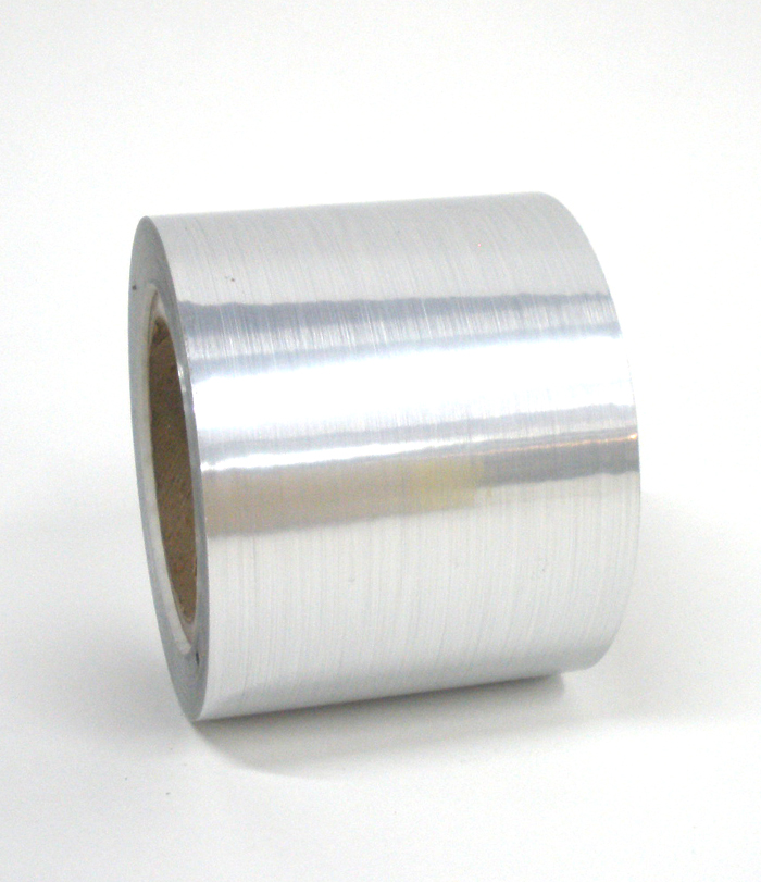"Brushed Aluminum Tape 4""X125'"