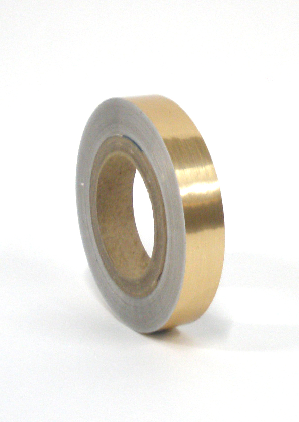 "Brushed Gold Tape 1""X125'"