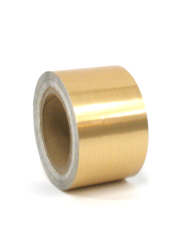 "Brushed Gold Tape 3""X125'"