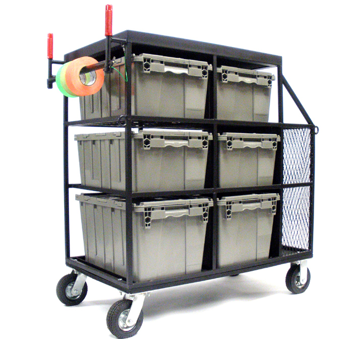 Custom Art Dept. 6 Crate Cart