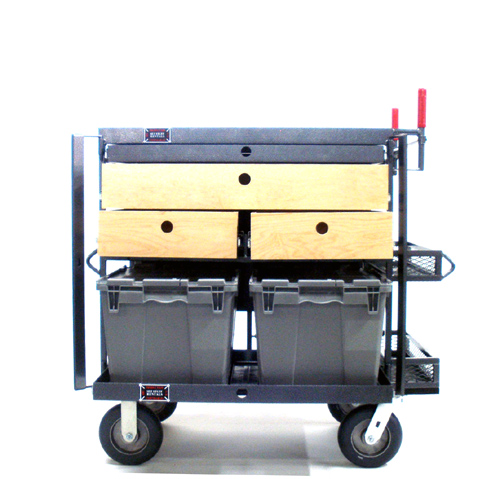 On Set Cart 2 Crate W/Drawers #8572