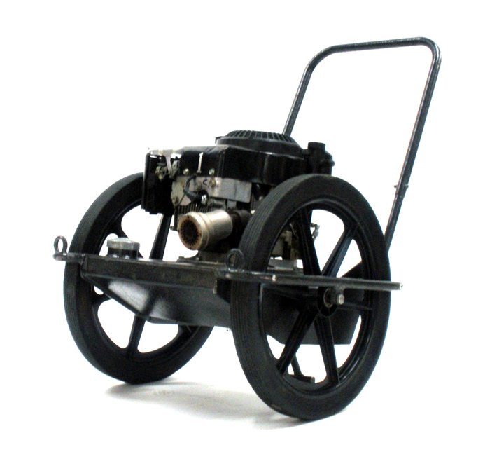 Lawnmower Smoker Machine
