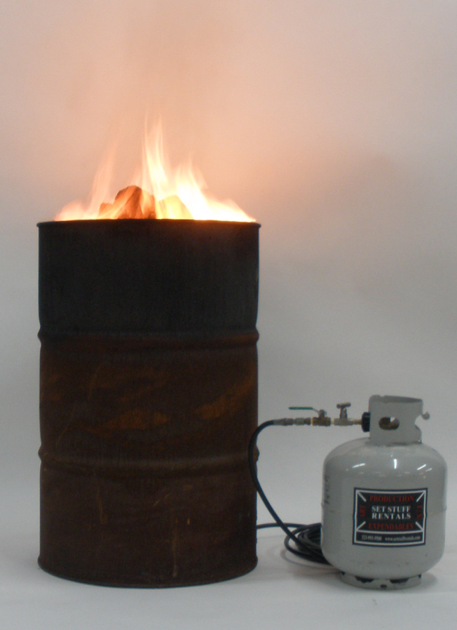 Fire Barrel LPG 55gal.