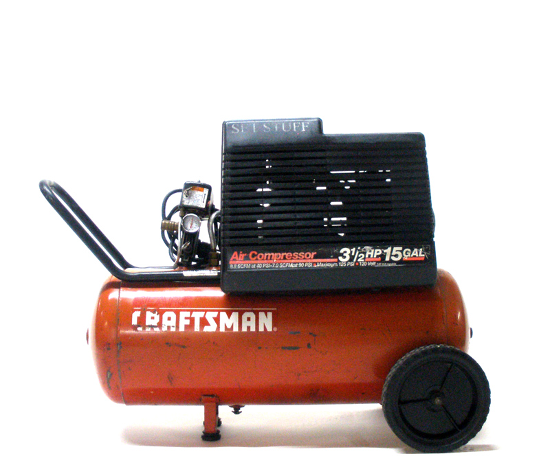 Air Compressor 3.5HP 15 Gal