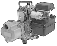 5.5 HP.Engine Drive Water Pump