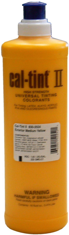 Cal-Tint Tinting Medium Yellow 16oz