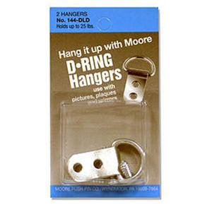 D-Ring Large 2 Screws 2pak