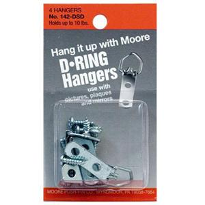 D-Ring Small 2 Screws 2pak