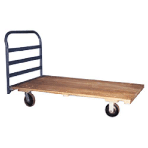 Dolly 4 Wheel Flatbed W/Handle